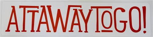 Attawaytogo Sticker