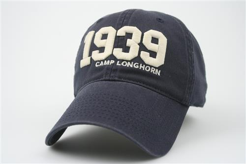 1939 EZ Twill Cap - Navy, Brown, Orange