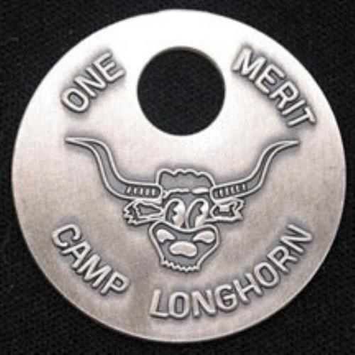 CAMP JEWELRY: Large Sterling Silver Merit
