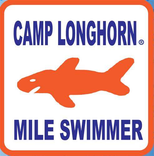 Mile Swim Sticker