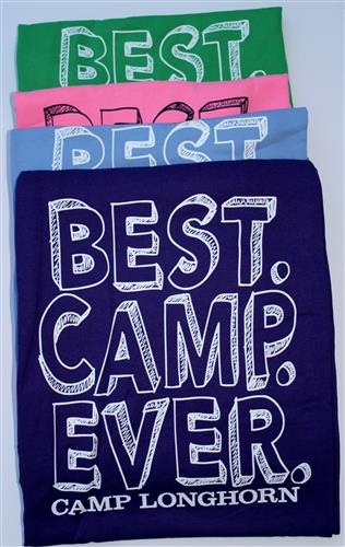 BAGS & BLANKETS: BEST. CAMP. EVER. Sports Throw
