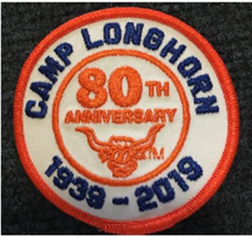 80th Anniversary Patch