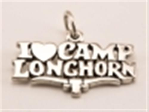 I Love Camp Longhorn Charm