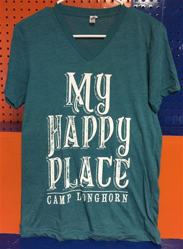 Adult My Happy Place Tee