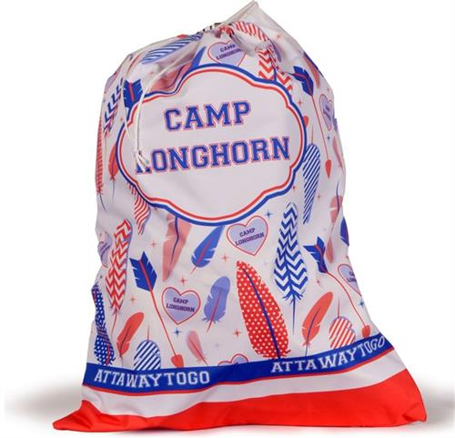 BAGS & BLANKETS: Girls Camp Laundry Bag