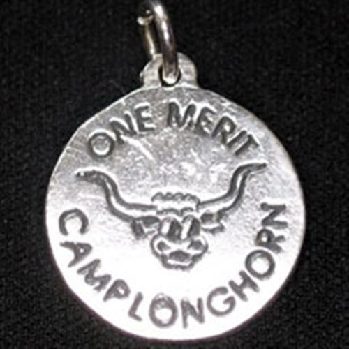 Small Silver Merit Charm