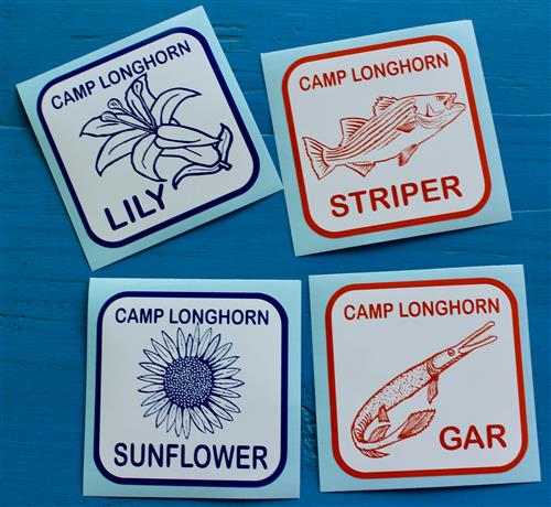 Cabin Stickers
